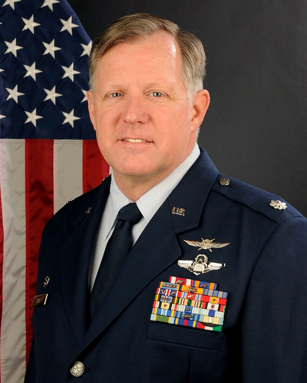 U.S. Air Force Lt. Col. Mark Hall, 169th Communications Flight commander at McEntire Joint National Guard Base, South Carolina Air National Guard, poses for his portrait, Jan. 27, 2014.   (U.S. Air National Guard photo by Tech. Sgt. Caycee Watson/Released)