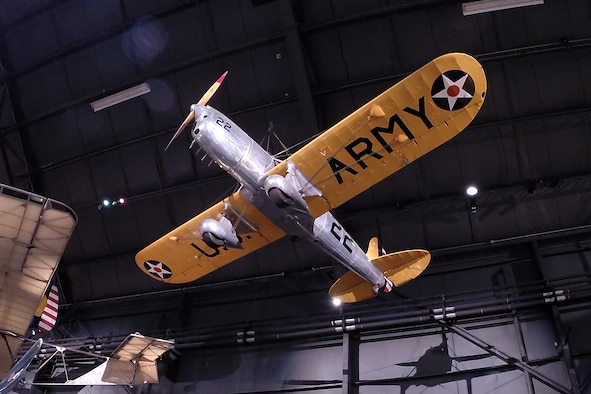 Ryan YPT-16 in the Early Years Gallery at the National Museum of the United States Air Force. (U.S. Air Force photo)
