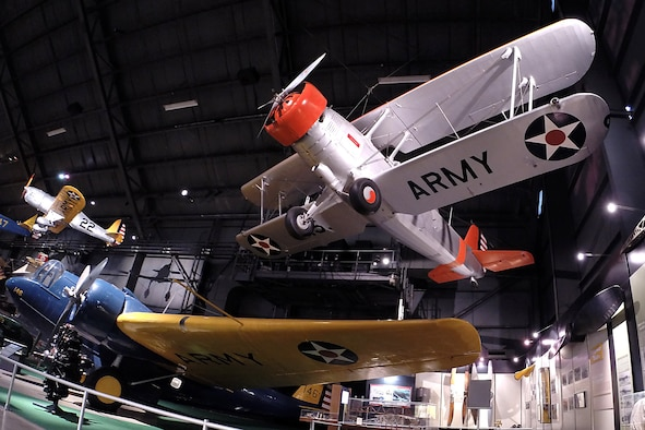 Douglas O-38F in the Early Years Gallery at the National Museum of the United States Air Force. (U.S. Air Force photo)