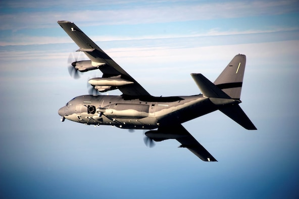 The AC-130J Ghostrider will provide close air support, special operations armed airborne reconnaissance, and ordnance delivery to precise targets in support of ground forces. (Courtesy photo)