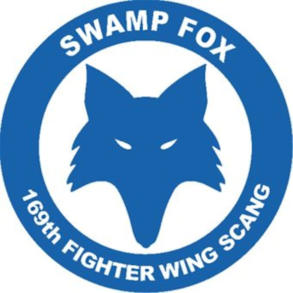 169th Fighter Wing, Swamp Fox logo.