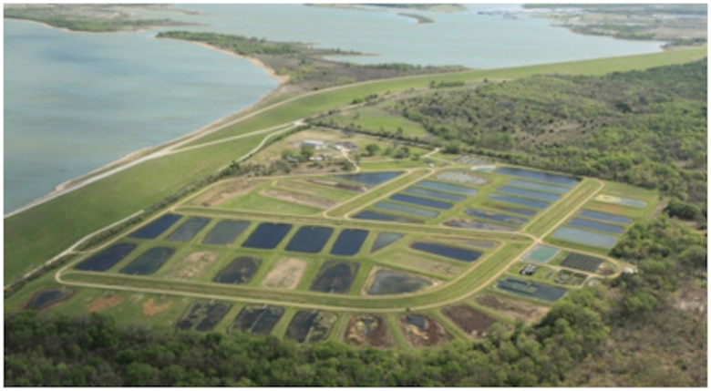LAERF provides 53 earthen ponds, 21 lined ponds, 18 flow-through water raceways, mesocosm systems, research greenhouses, and several on-site laboratories for aquatic ecosystem research.