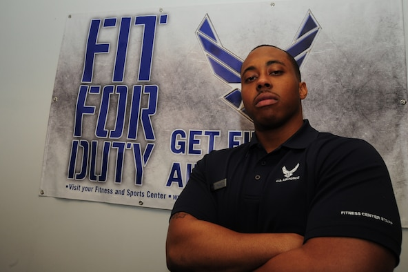 Staff Sgt. Adrian Paisley, 509th Force Support Squadron fitness center specialist, was deployed to Southwest Asia, alongside a team of nine other Airmen from the 509th FSS, from July 2013 to January 2014. The team's mission was to help organize and refurbish a nearly empty fitness center. They also assisted other units as they set up various facilities on base.. (U.S. Air Force photo by Staff Sgt. Nick Wilson/Released)