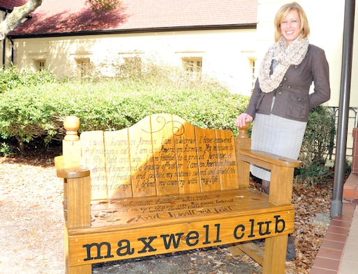 Among their many projects, Rachel Napier, Maxwell Club manager and her