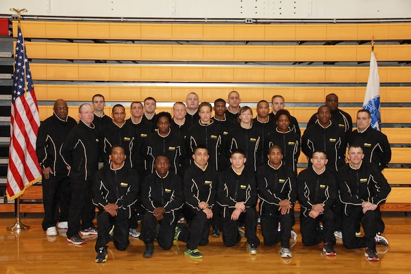 Army won both Greco-Roman and Freestyle competitions to capture Armed Forces gold at the Armed Forces Wrestling Championship held at MCB Camp Lejeune, NC 7-8 March.