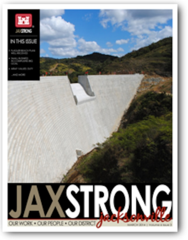 JaxStrong - March 2014 In this issue:                -Flagler Beach plan well received  -Small Business accomplishes big goal  -Army Values: Duty  and more...