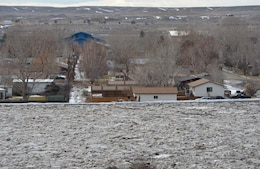 An ice jam along the Big Horn River raised river levels in Greybull, Wyo., to within 2 feet of the top of the 2.5-mile long federally-constructed, locally-sponsored levee. Officials in Greybull cancelled classes at local schools for March 10 citing flooding concerns and wanted the buses to be available to evacuate people if necessary.