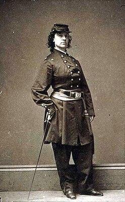 Pauline Cushman, circa 1860s