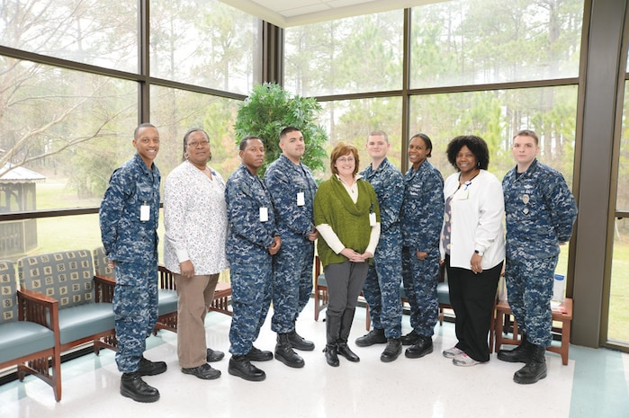Naval Branch Health Clinic Albany's Healthcare Effectiveness Data and Information Set team achieves a goal of providing better quality preventive care and service to its patients. This goal by the HEDIS team earned the clinic an improved performance measurement score.