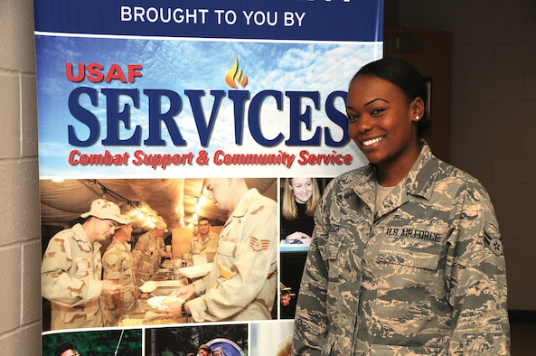 WRIGHT-PATTERSON AIR FORCE BASE, Ohio - Senior Airman Brittany Nelson, a 445th food services apprentice, is a deputy jailer at the Campbell County Detention and Restricted Custody Center in Kentucky. (U.S. Air Force photo/Tech. Sgt. Anthony Springer)