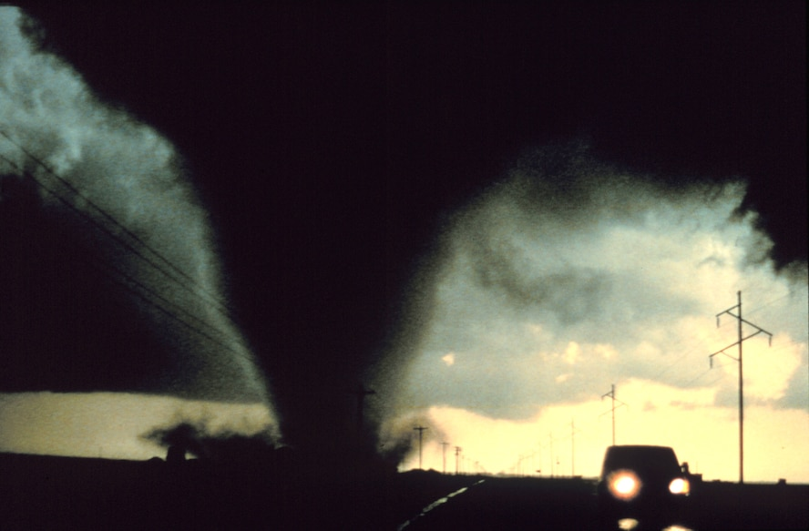 """Knowing the difference between a """"watch"""" and a """"warning"""" can made a big difference during tornado season in Oklahoma. (Photo courtesy of NOAA Photo Library)"""