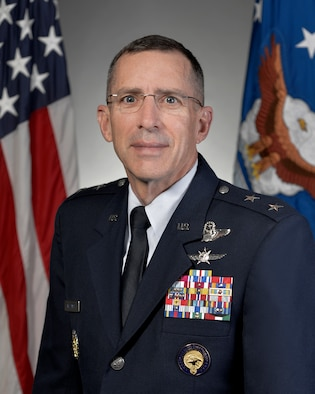 Official Photo-   (U.S. Air Force Photo by Michael J Pausic);  Major General Brett Williams