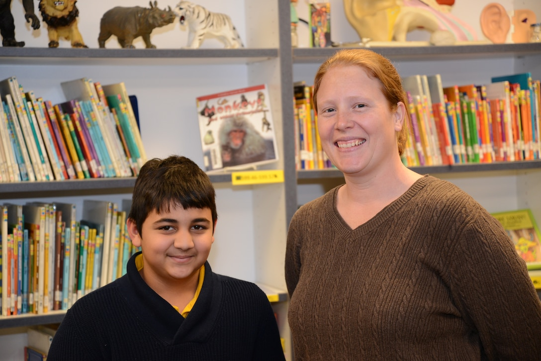 Click below to listen to interviews from 5th grade student Riya Ahad and teacher Michelle Lynd