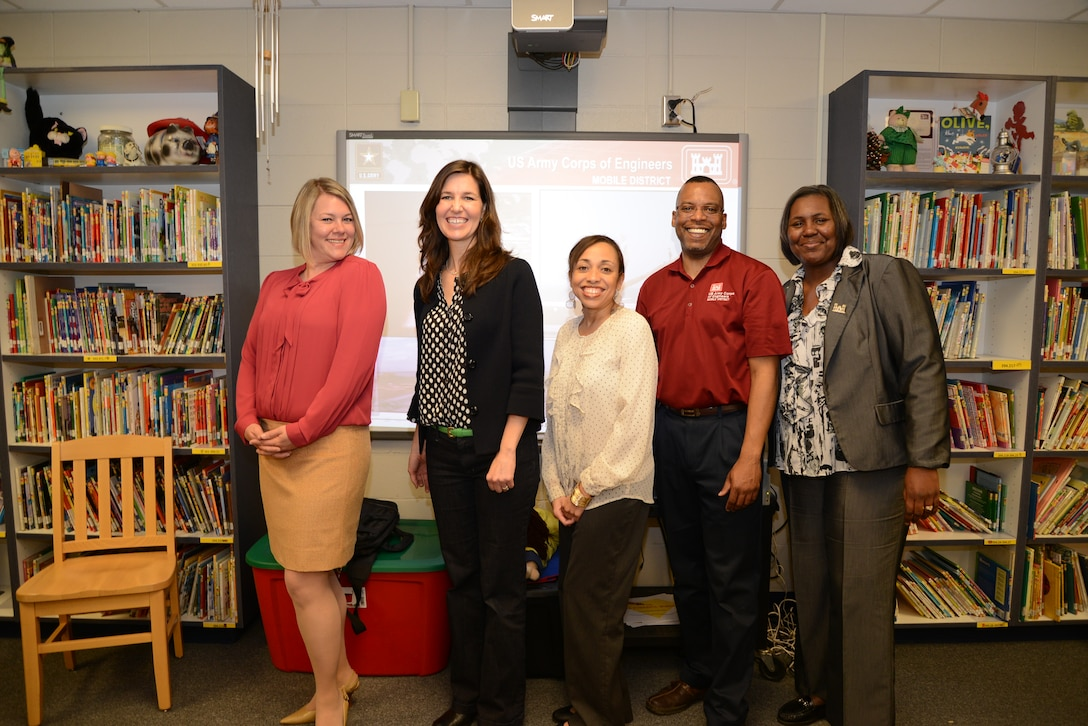 USACE Mobile & Indian Springs School Staff
