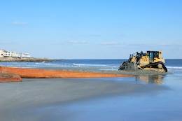 The Charleston District is conducting a Shore Protection Project at Folly Beach.