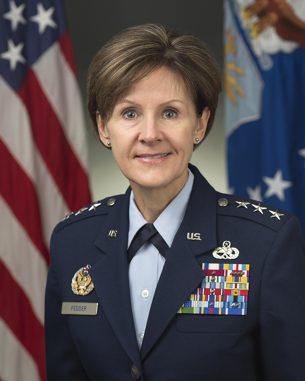 LIEUTENANT GENERAL JUDITH A. FEDDER > U.S. Air Force