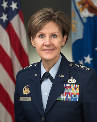 Lt. Gen. Judith Fedder was photographed in the Pentagon on Mar. 14, 2014.