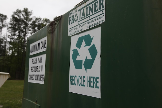 Camp Pendleton has begun a new initiative in recycling by reducing their disposable waste through recycling Styrofoam.  Most people think that Styrofoam is not recyclable, but the truth is the material is a petroleum based product and it is highly recyclable, just like plastics, according to Charles Bradshaw, the Recycling Program Manager for Camp Pendleton.