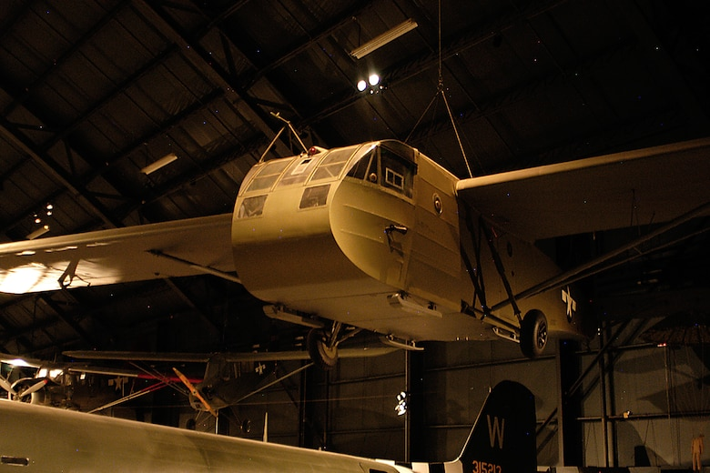 Waco CG-4A in the WWII Gallery at the National Museum of the United States Air Force. (U.S. Air Force photo)