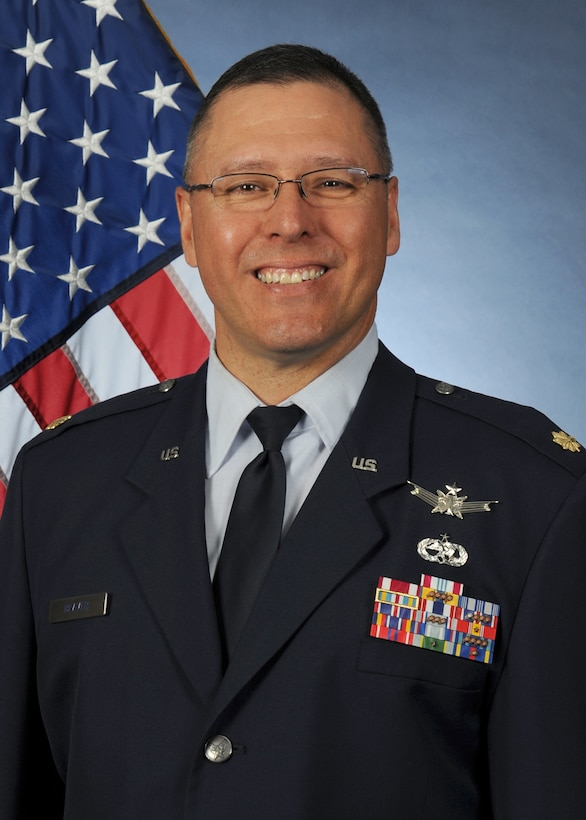 Maj. Jerry Beaver, 45th Operations Group Detachment 1 commander