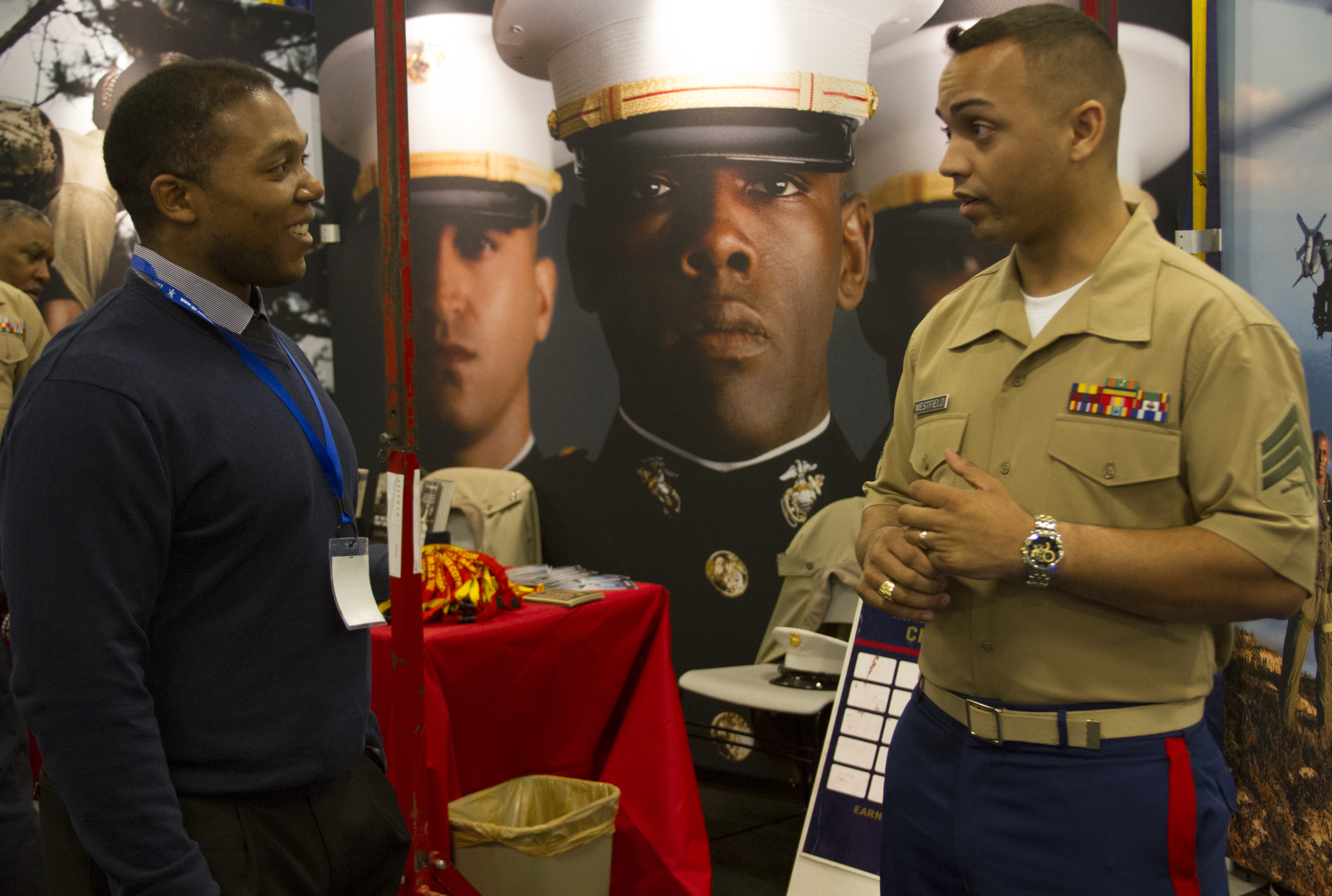 Marines attend 40th Annual NSBE Convention
