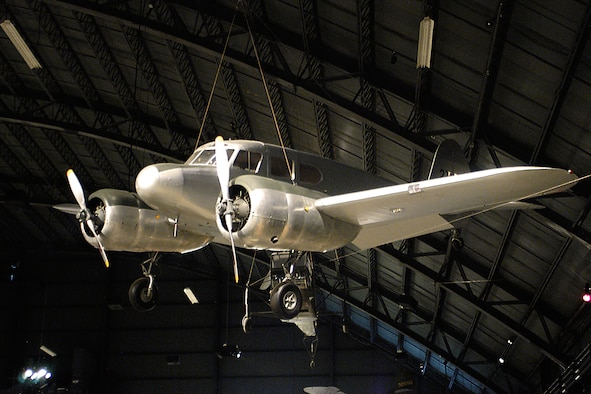 DAYTON, Ohio - Cessna UC-78B Bobcat in the World War II Gallery at the National Museum of the United States Air Force. (U.S. Air Force photo)