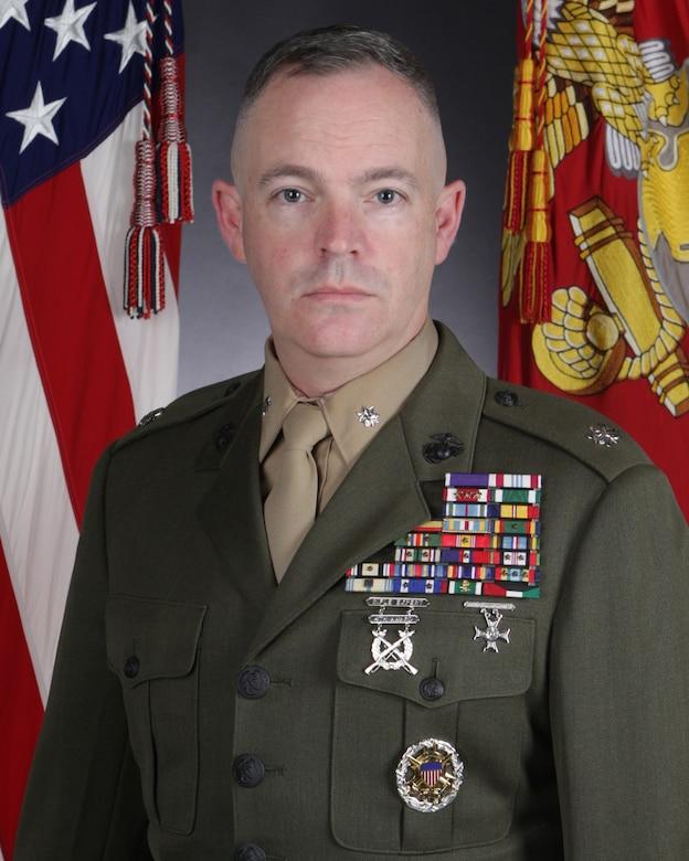 Lieutenant Colonel Harry L. Gardner, MCIEAST-MCB Camp Lejeune commanding officer