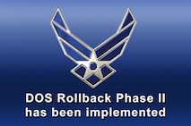 DOS Rollback Phase II has been implemented