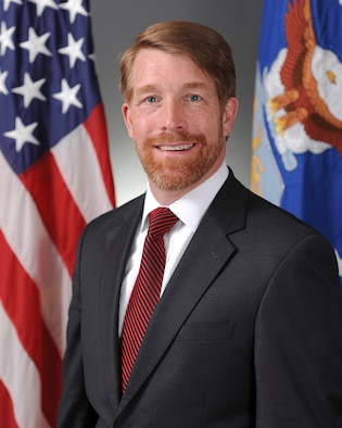 Official Air Force Image: Mr Mark Teskey Bio Photo