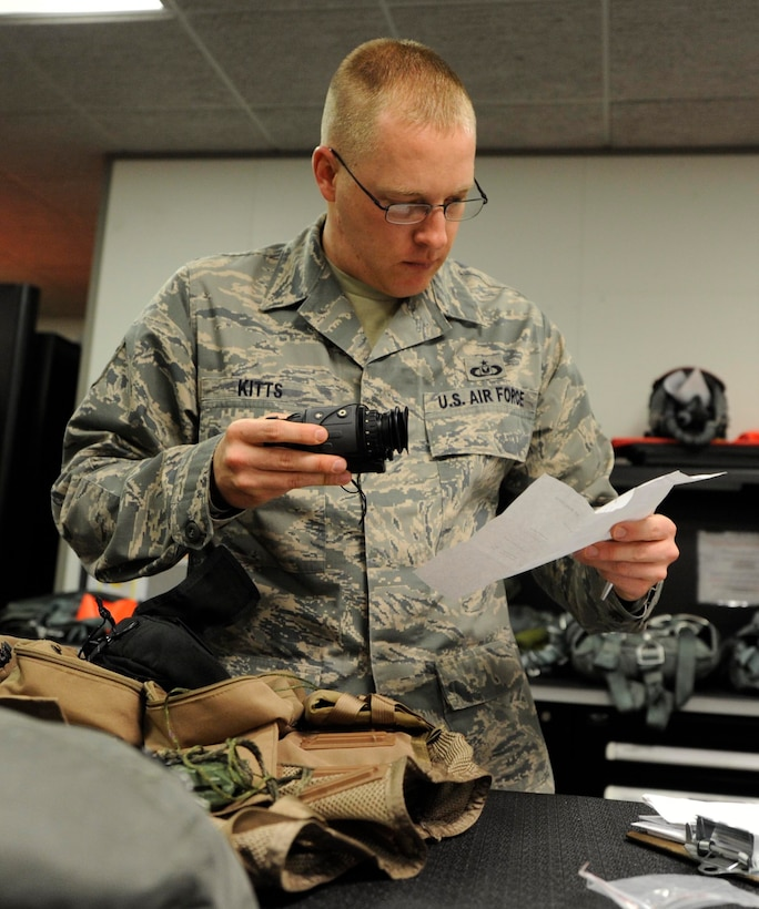 Tech. Sgt. Christopher Kitts, 509th Operations Support Squadron aircrew flight equipment quality assurance, was recognized as Air Force Global Strike Command 2013 NCO of the Year. During 2013, he led COPE NORTH AFE, altered 1.6K-sq.-ft. shop consisting of 253 pilots and saved the Air Force $798K