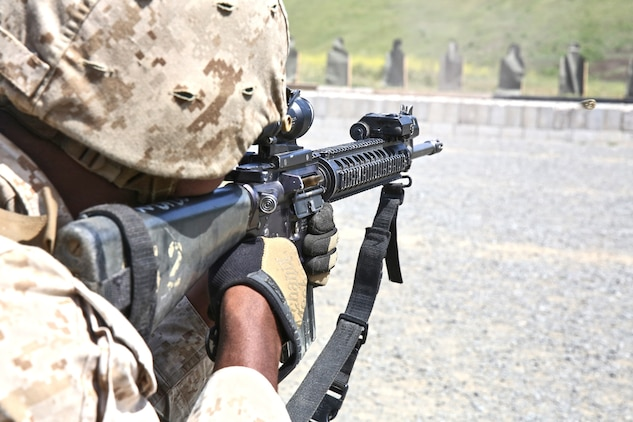 Combat engineers refresh skills at table iii shoot 1st for Table 6 usmc