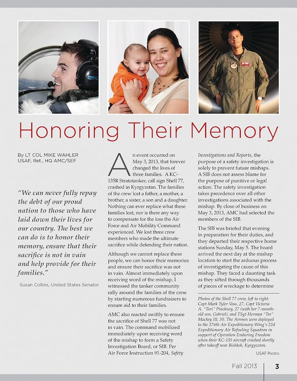 Excerpt of an article from the Fall 2013 issue of The Mobility