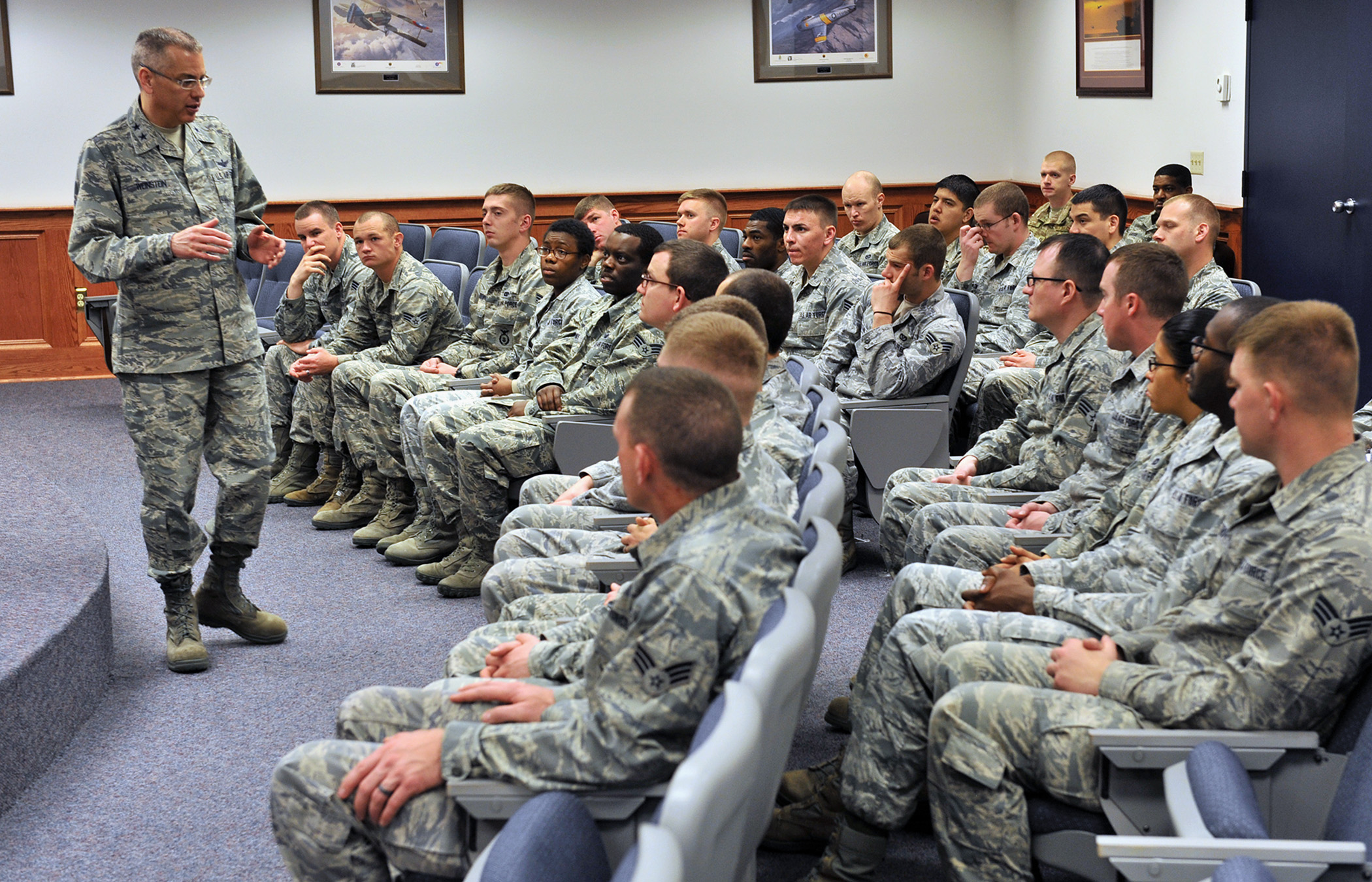 Incentive Charts: 20th Air Force commander visits Malmstrom hears FIP feedback from ,Chart