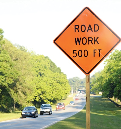 Personnel, residents and visitors entering and exiting Marine Corps Logistics Base Albany may experience delays due to road improvements on Fleming and Mock roads. Construction began Monday and is scheduled to continue for the next several weeks.