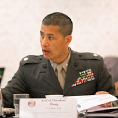 LtCol Theodore L. Wong, USMC