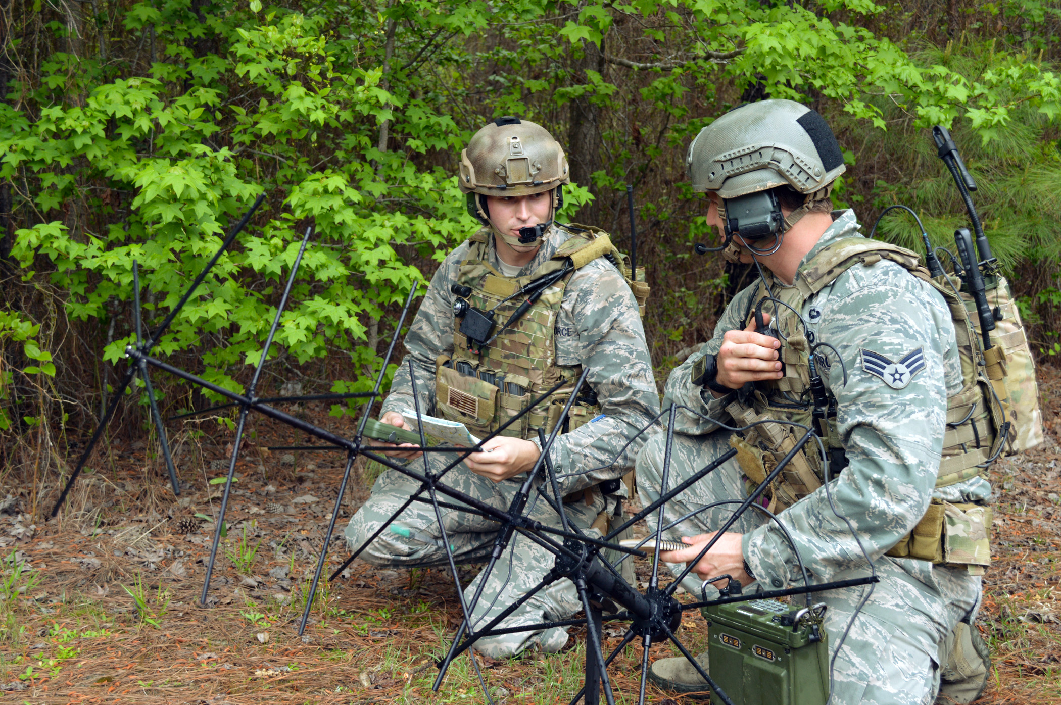 pope tacp airmen integrate air support operations center during warfighter exercise