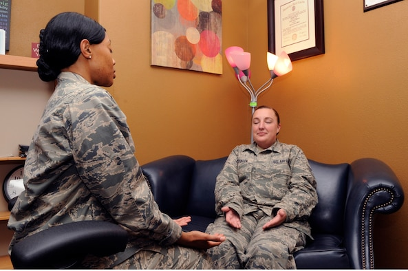 Maj. Crystal McLeod, 30th Medical Operations Squadron family advocacy