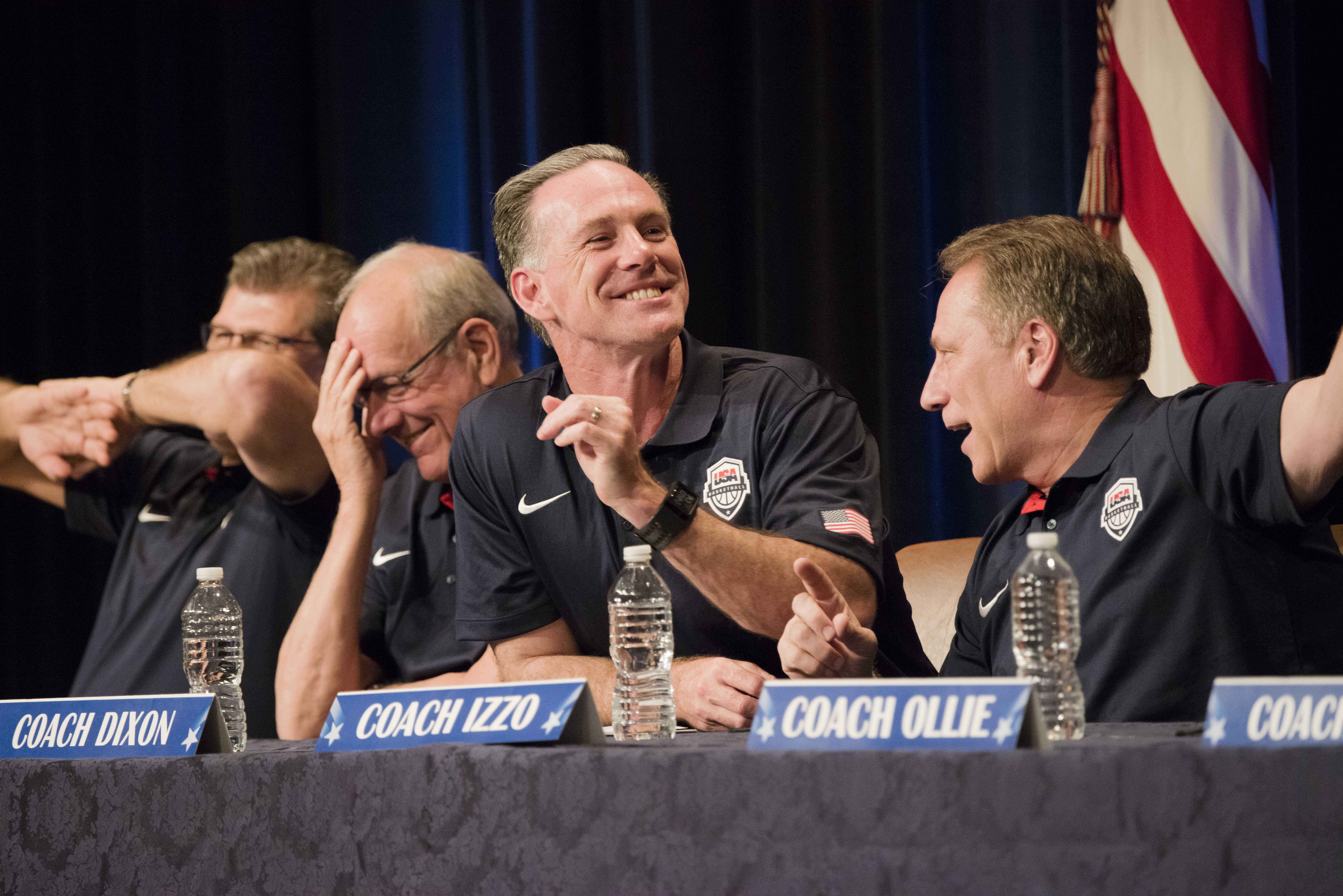 From Left To Right Geno Auriemma University Of Connecticut