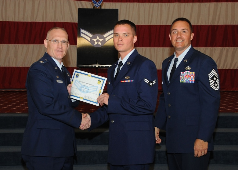 Wing Monthly Promotion Ceremony > Barksdale Air Force Base