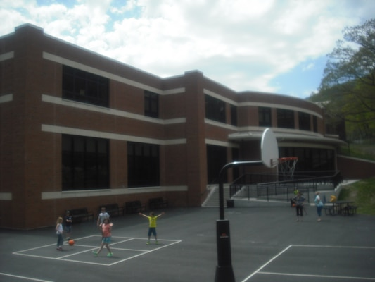 Completed West Point Middle School New Addition.
