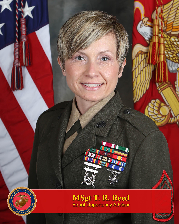 Master Sergeant Tosha Reed > I Marine Expeditionary Force ...