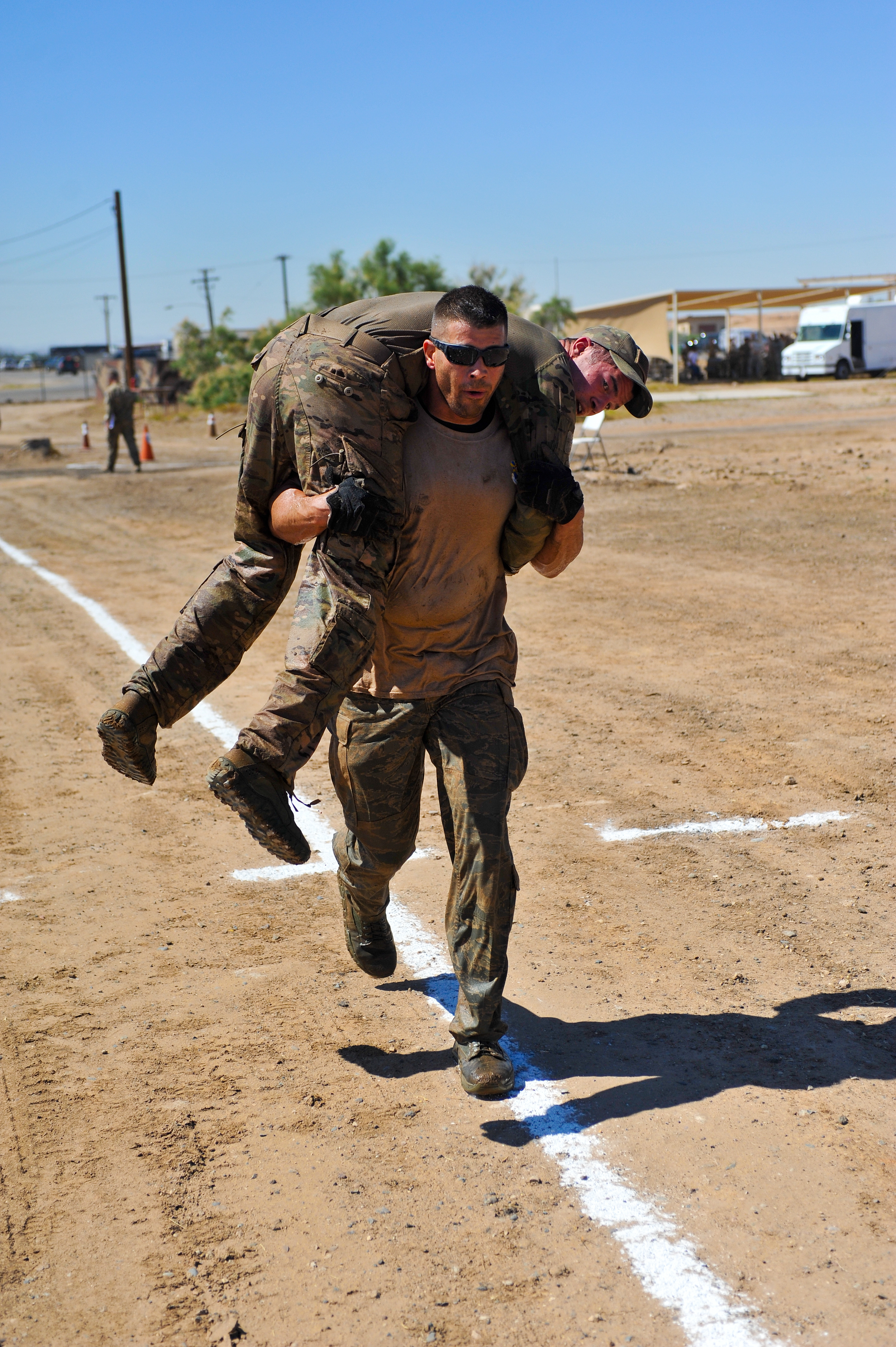 EOD sets pace for Explosive Challenge