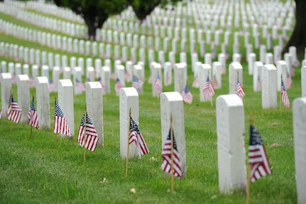 Arlington National Cemetery, shown May 17, 2013, is commemorating its 150th anniversary.