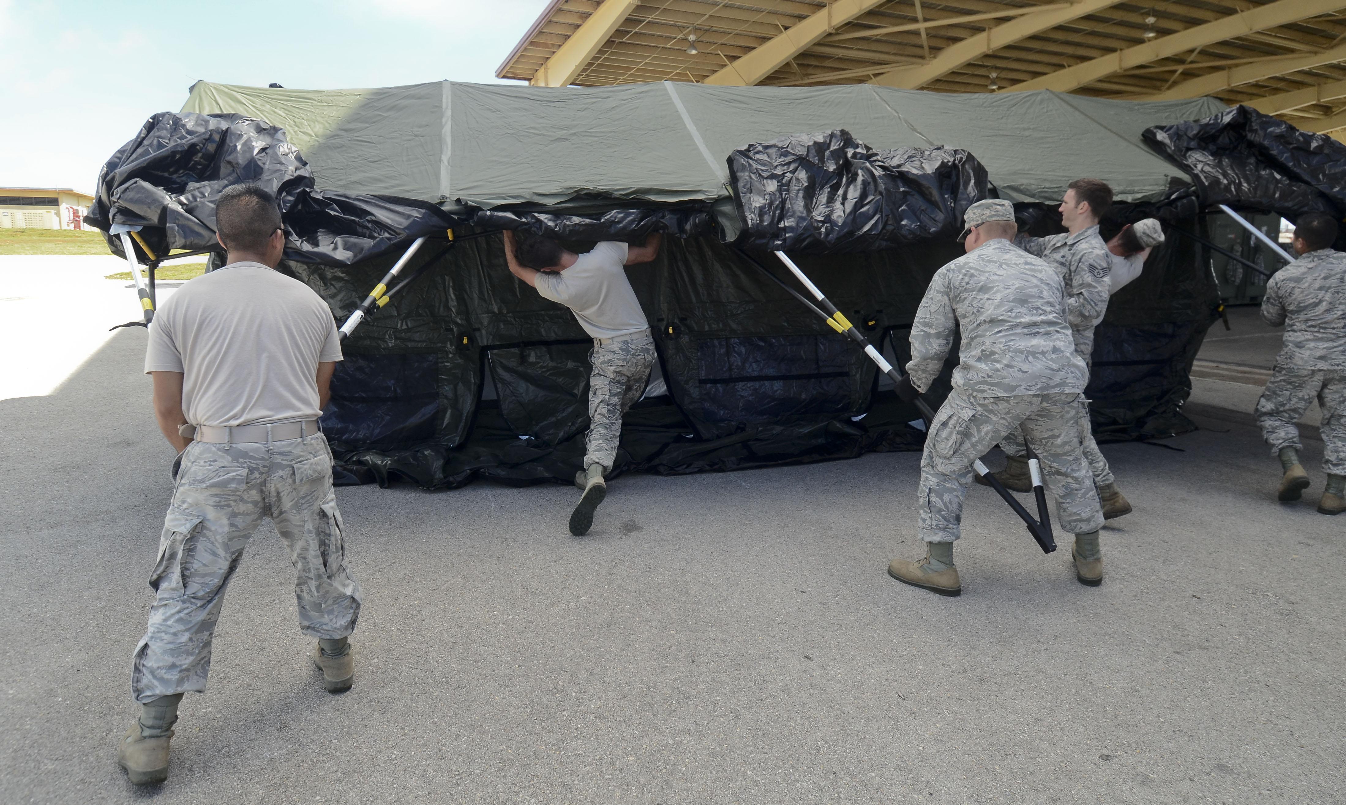 CR-MOC Airmen learn basics of contingency response & CR-MOC: Airmen learn basics of contingency response u003e Pacific Air ...