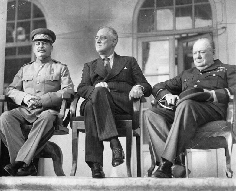Three allies