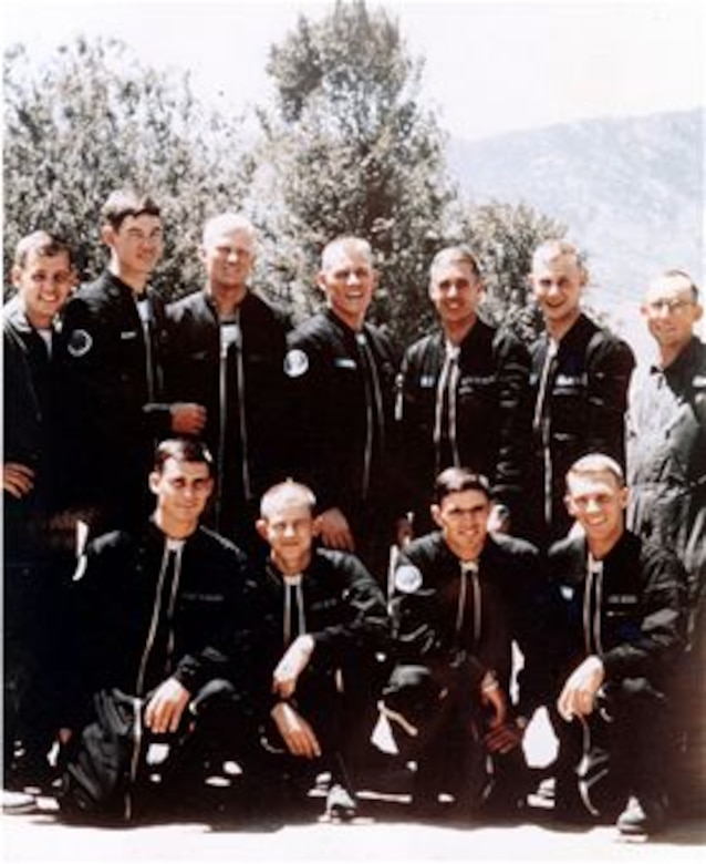 Wings of Blue team in 1964. (Courtesy Photo)