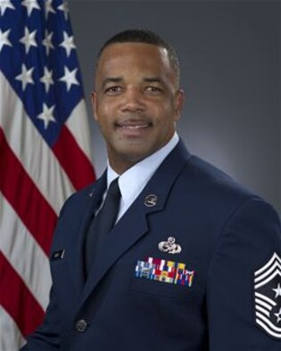 452d Air Mobility Wing Command Chief Master Sgt. Timothy C. White, Jr.