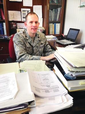 Lt. Col. David Richie (Col. Martin France/U.S. Air Force photo)