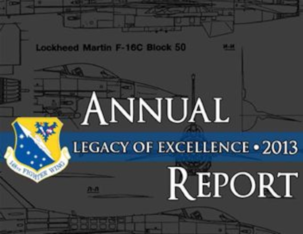 148th Fighter Wing 2013 Annual Report