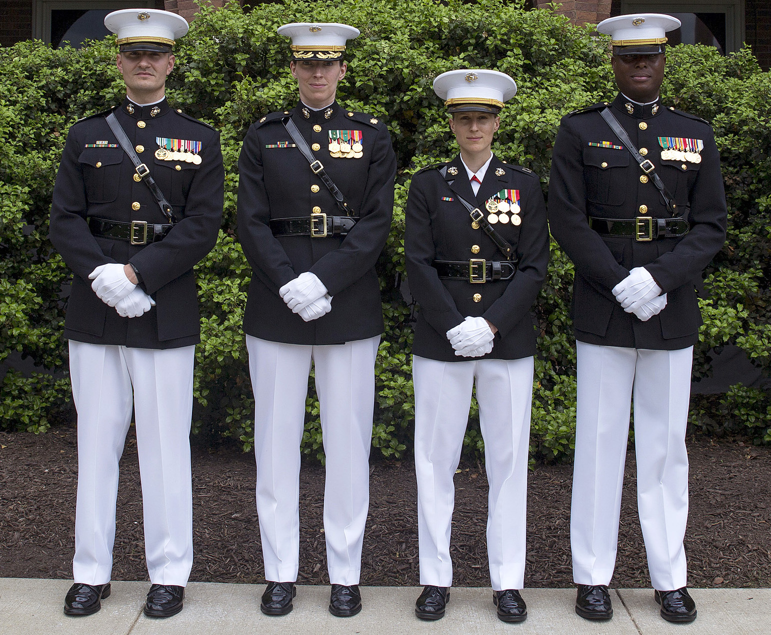 Wear it right! U. S. Marine corps uniform guide includes.